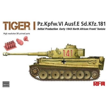 RYE FIELD MODEL 5001U Tiger I initial production early 1943 1/35