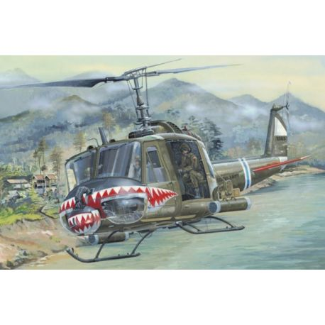 HOBBY BOSS 81806 UH-1 Huey B 1/18