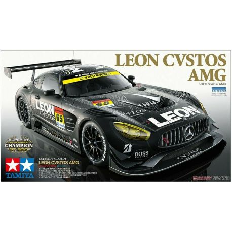 TAMIYA 24350 Mercedes Benz LEON CVSTOS AMG GT3
