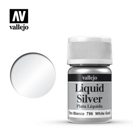 VALLEJO MODEL COLOR 217 LIQUID WHITE GOLD 35ML 70796