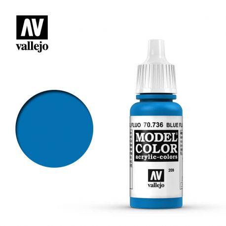 VALLEJO MODEL COLOR 209 BLUE FLUO 70736