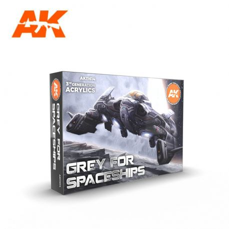 AK INTERACTIVE 3rd Generation- GREY FOR SPACESHIPS set