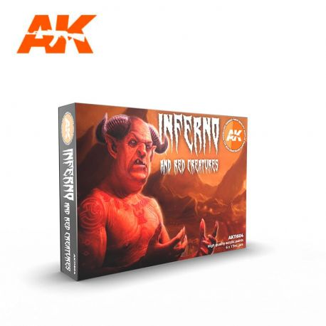 AK INTERACTIVE 3rd Generation- INFERNO AND RED CREATURES