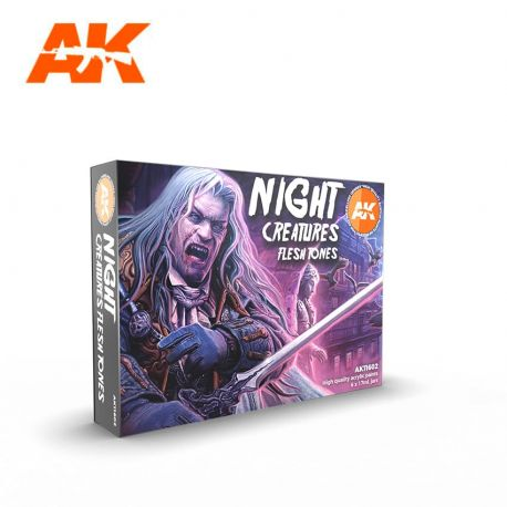 AK INTERACTIVE 3rd Generation- NIGHT CREATURES FLESH TONE