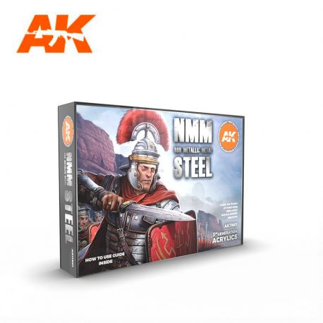 AK INTERACTIVE 3rd Generation- NON METALLIC METAL: STEEL