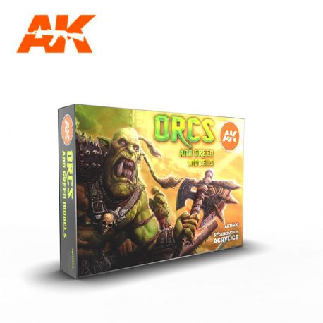 AK INTERACTIVE 3rd Generation- ORCS AND GREEN MODELS