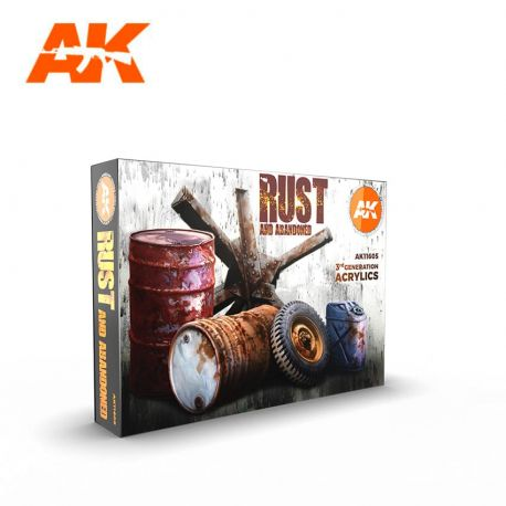 AK INTERACTIVE 3rd Generation- RUST AND ABANDONED