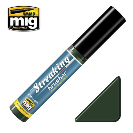 STREAKINGBRUSHER GREEN-GREY GRIME AMMO OF MIG 1256