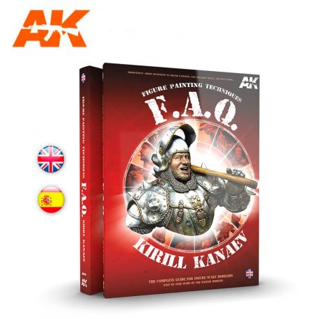 AK INTERACTIVE- FIGURES F.A.Q. – FIGURE PAINTING TECHNIQUES – THE COMPLETE GUIDE FOR FIGURE SCALE MODELERS