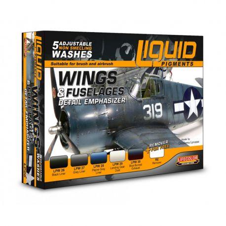 LifeColor LP06 Wings & Fuselages Detail Emphasizer