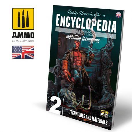 AMMO OF MIG Encyclopedia of Figures Modelling Techniques VOL. 2 - TECHNIQUES & MATERIALS (English)
