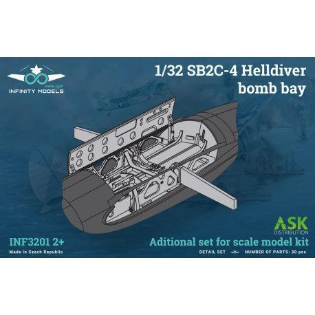 INFINITY MODELS- SB2C-4 Helldiver bomb bay