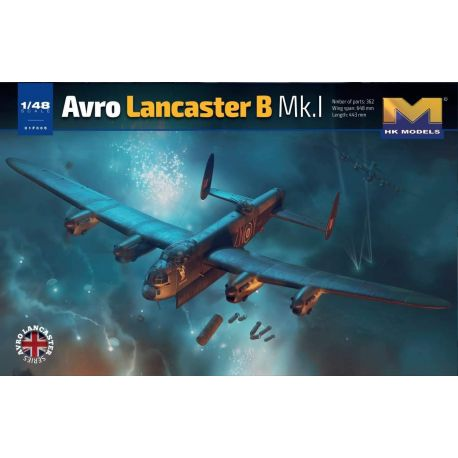 HONG KONG MODEL 01F005 1/48 Avro Lancaster B Mk.I