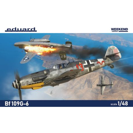 EDUARD 84173 Bf 109G-6 Weekend edition 1/48