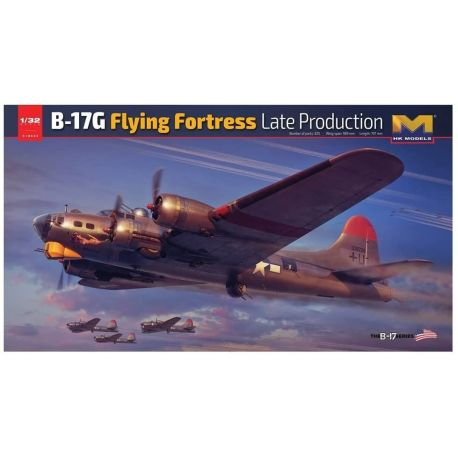 Hong Kong Models Boeing B-17E/F Flying Fortress