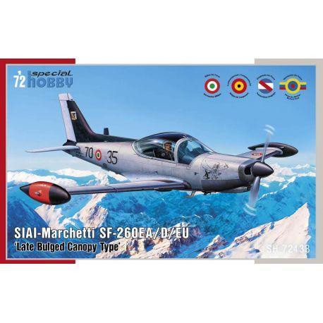 SPECIAL HOBBY 72433 SIAI-Marchetti SF-260EA/D/E 1/72