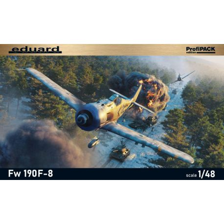 EDUARD 82139 Fw 190F-8 Profipack edition