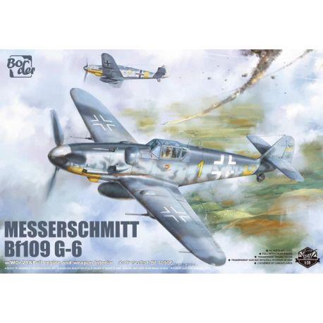 BORDER MODEL Messerschmit Bf 109-G6 1/35