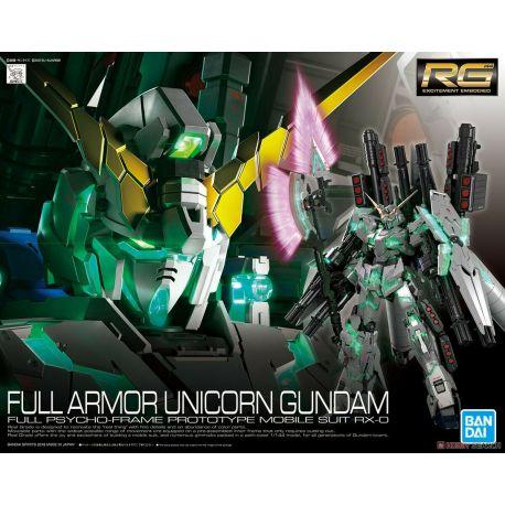 BANDAI RG GUNDAM UNICORN FULL ARMOR 1/144