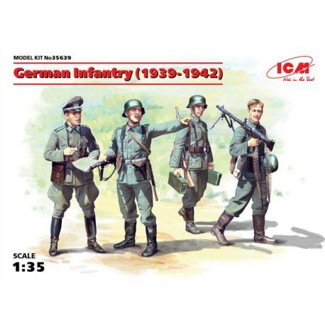 ICM 35639 German Infantry (1939-1942) (4 figures) (100% new molds)