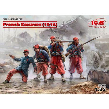 ICM 35709 French Zouaves (1914) (4 figures)