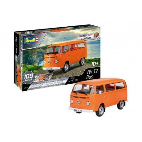 REVELL 07667 Volkswagen Transporter T2 Bus easy-click system