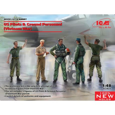 ICM 48087 American Pilots and Technicians (Vietnam War)