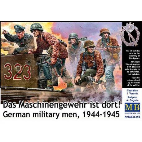 MASTER BOX 35218 Das Maschinengewehr ist dort! German military men, 1944-1945
