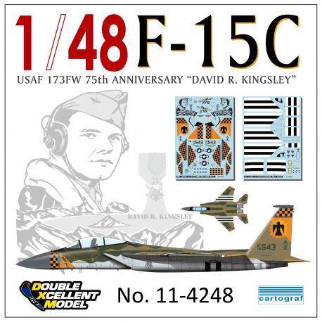 "F-15C 173FW 75th Anniversary ""David R. Kingsley"""