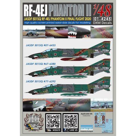 RF-4EJ Phantom II JASDF 501SQ RF-4EJ Final Flight 2020