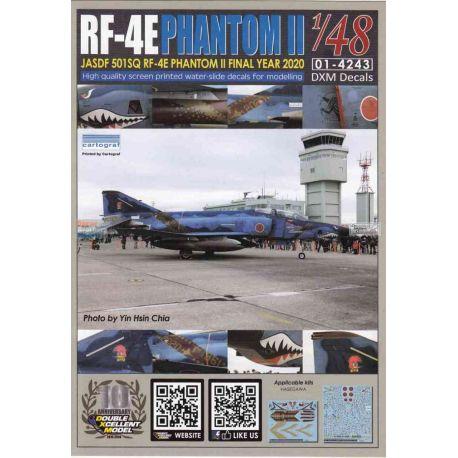 RF-4E Phantom II JASDF 501SQ Final Year 2020