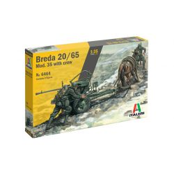 ITALERI 6464 Breda 20/65 Mod. 35 with crew 1/35
