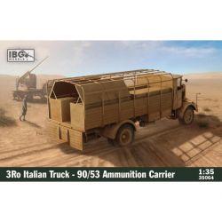 IBG MODELS 35064 3Ro Italian Truck - 90/53 Ammunition Carrier 1/35