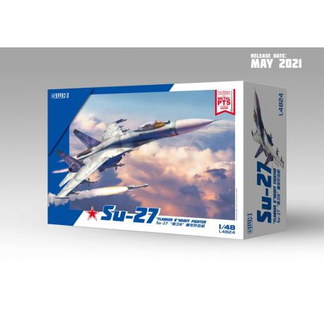GREAT WALL HOBBY Su-27 Flanker B Heavy Fighter 1/48