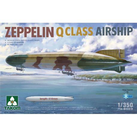 TAKOM 6003 Zeppelin Q Class Airship 1/350
