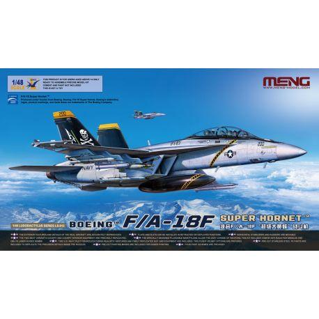 MENG MODEL Boeing F/A-18F Super Hornet 1/38