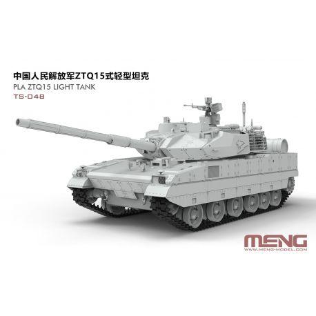 MENG MODEL PLA ZTQ15 Light Tank 1/35