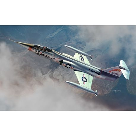 KINETIC 48096 F-104C USAF Starfigter 1/48
