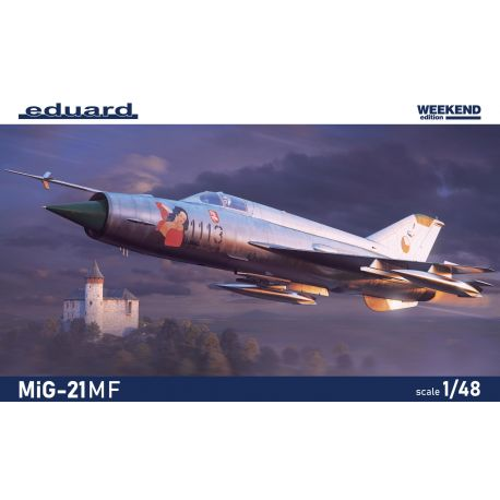 EDUARD 84177 MiG-21MF Weekend edition 1/48