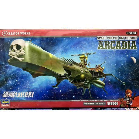 HASEGAWA 64520 Galaxy Express 999 Space Pirate Battleship Arcadia