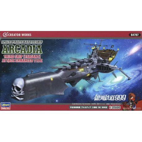 Galaxy Express 999 Space Pirate Battleship Arcadia Third Ship (Variant)