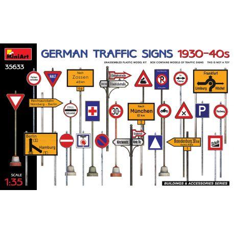 MINIART 35633 GERMAN TRAFFIC SIGNS 1930-40s