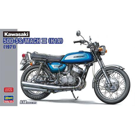HASEGAWA 21735 Kawasaki 500-SS/MACH III (H1A)