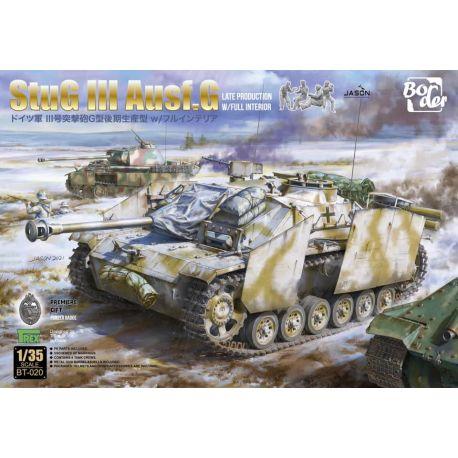 BORDER MODEL BT019 StuG III Ausf.G Final Production