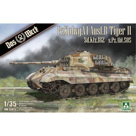 DAS WERK 35013 PzKpfwg. VI Ausf.B Tiger II Sd.Kfz.182 - s.Pz.Abt.505