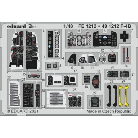 EDUARD 491212 F-4B 1/48