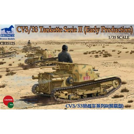 Bronco Models 35125 CV3/33 Tankette Serie II (Early Production)