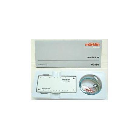 MARKLIN 60880 DECODER S88 PER ACCESSORI ELETTROMAGNETICI