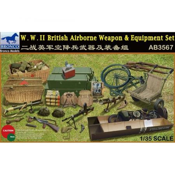 Bronco Models: set armi ed equipaggiamento per Paracadutisti Inglesi WWII