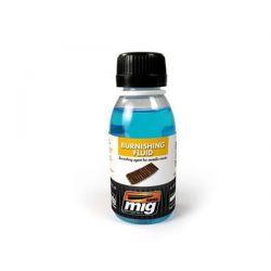 Liquido brunitore per cingoli in metall, 100ml
